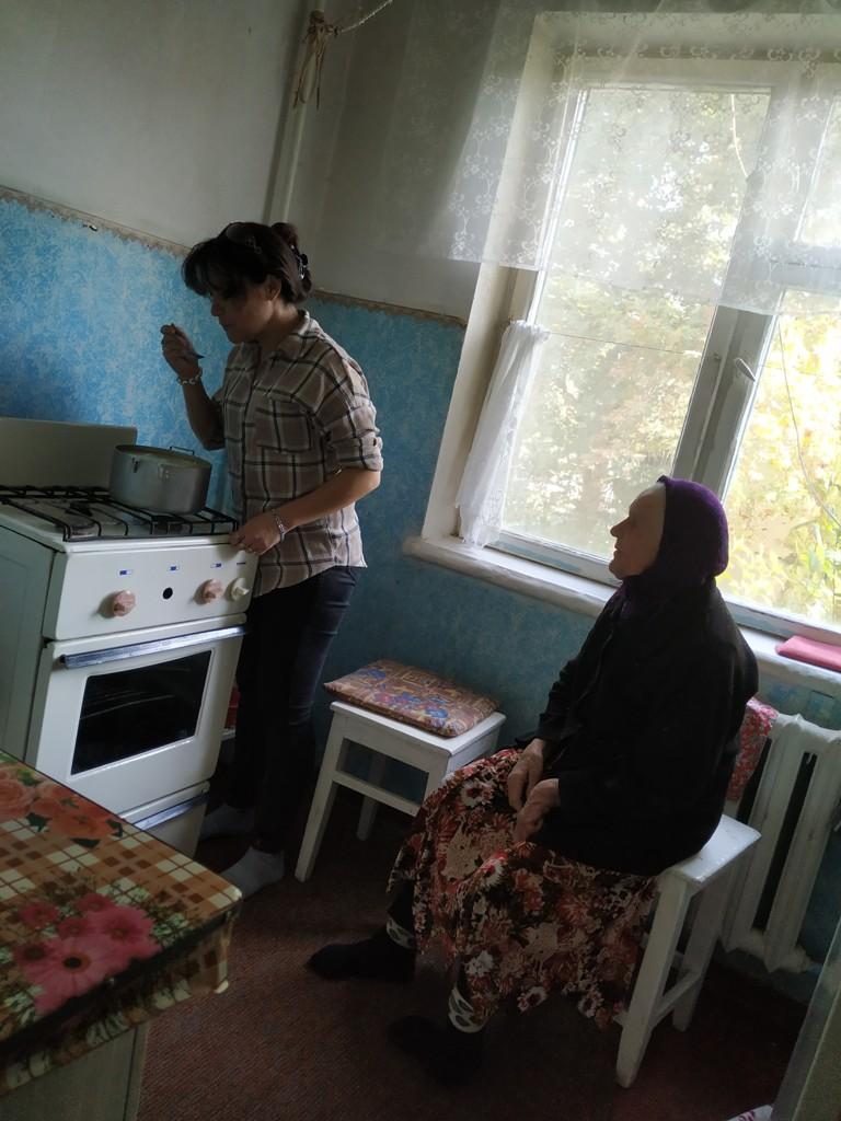 Социальная работа Ферганского культурного центра немцев Узбекистана